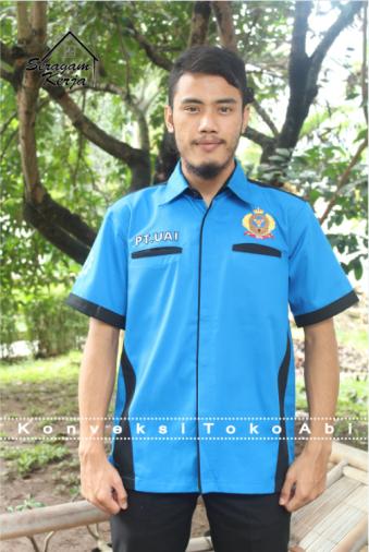 Seragam PT Argo Meranti Estate Lengan Pendek