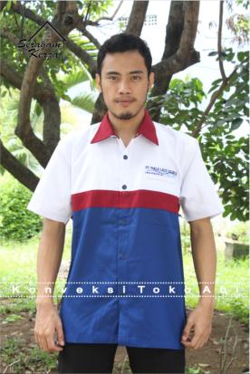 Seragam PT Piala Laut Jakarta Desain 1