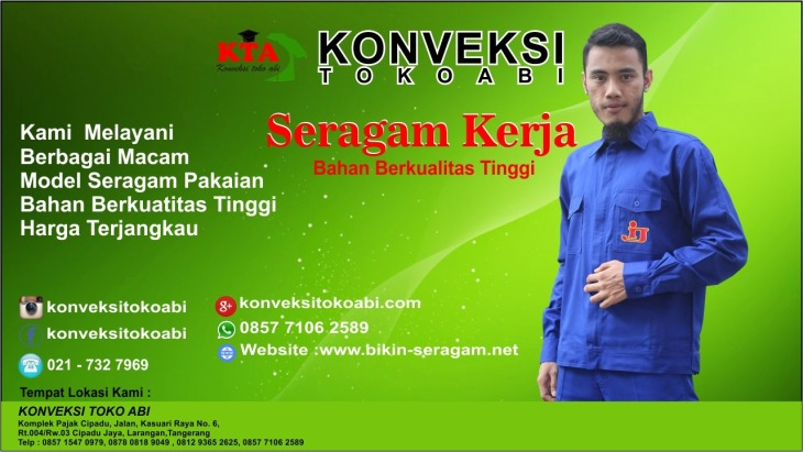 Buat Baju Seragam Kantor di Tangerang